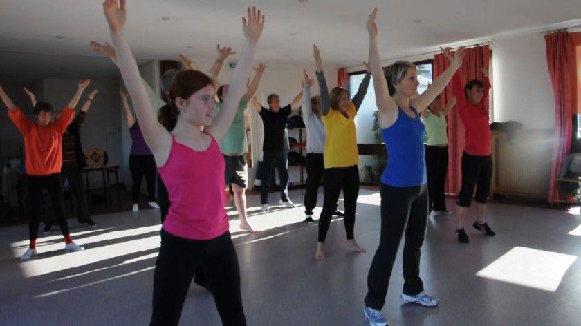 gymnastique pour tous – pas d'aptitudes physiques particulières – parfaite pour se remettre à bouger