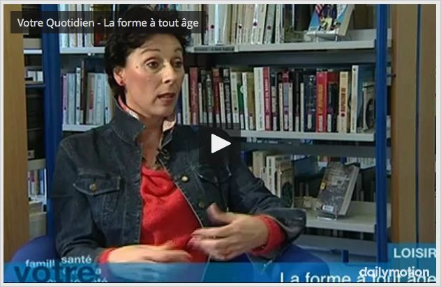 Bénédicte Rivet présente GymSanté sur Yvelines Première